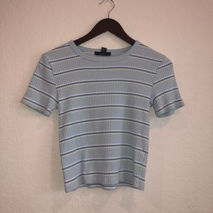 Striped Shirt CROPPED